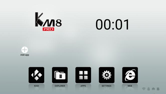 Смарт ТВ приставка INVIN KM5 Pro